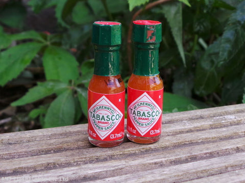 Miniature 3.7ml Red Tabasco Sauce