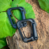 2 x D Link MOLLE Carabiners
