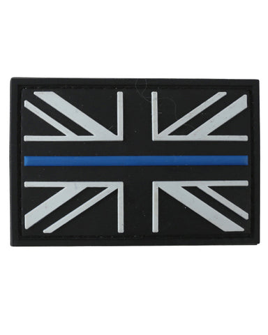 Thin Blue Line Union Jack PVC Moral Patch