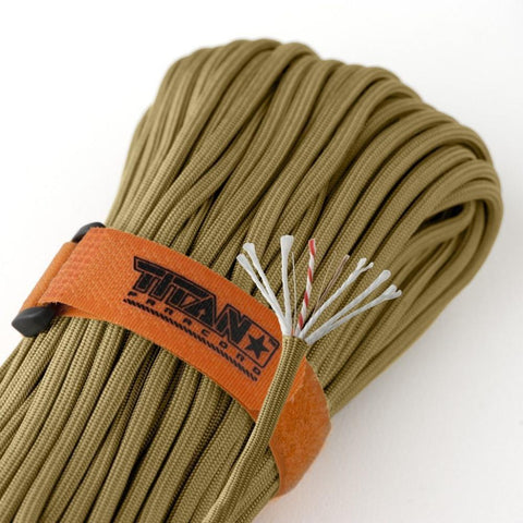 Titan SurvivorCord Paracord Coyote Brown
