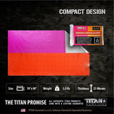 Titan Signal Panel Mylar Survival Blanket