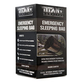 Titan Emergency Foil Sleeping Bag Earth Olive