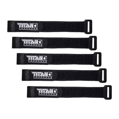 Titan Paracord Hook & Loop Fasteners