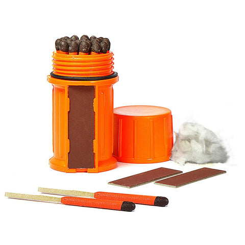 UCO Orange Stormproof Waterproof Match Kit