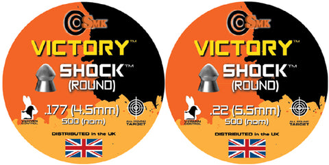 SMK Victory Shock Airgun Pellets