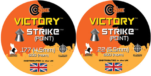 SMK Victory Strike Airgun Pellets