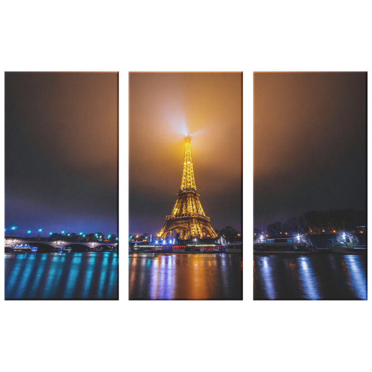 Eiffel Tower at night - Canvas prints
