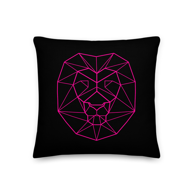 Pink Lion Premium Pillow