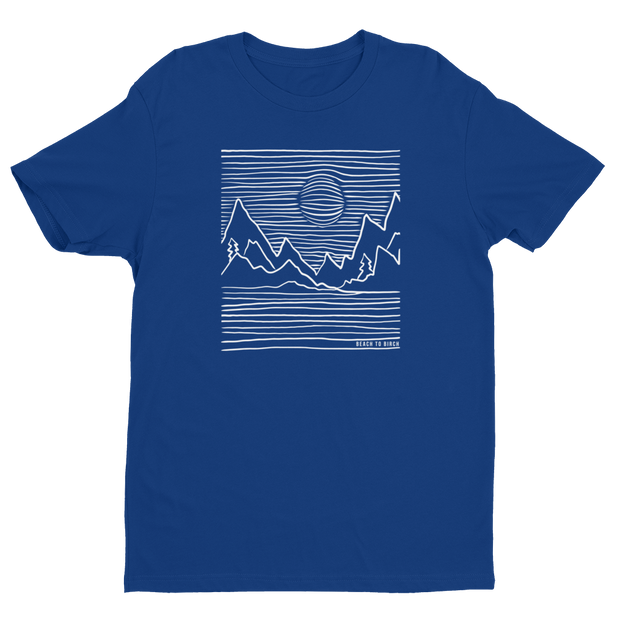 Mountain Lines Short Sleeve T-shirt