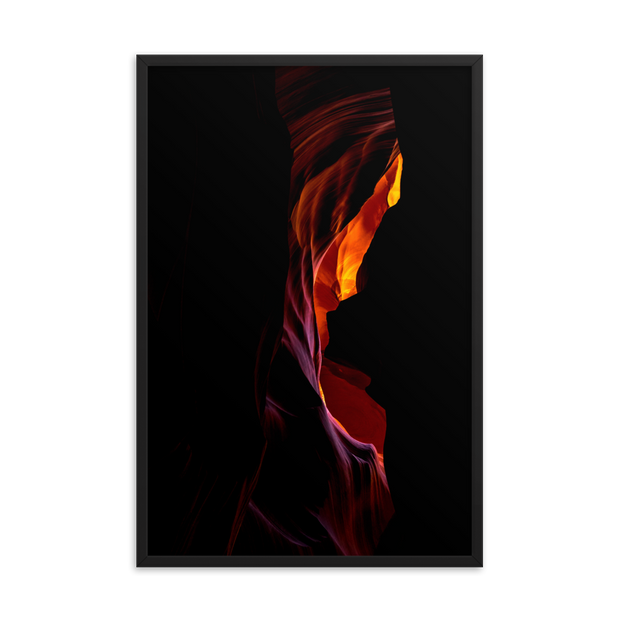 Antelope Canyon Framed poster