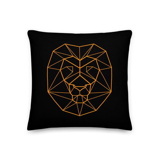 Orange Lion Premium Pillow
