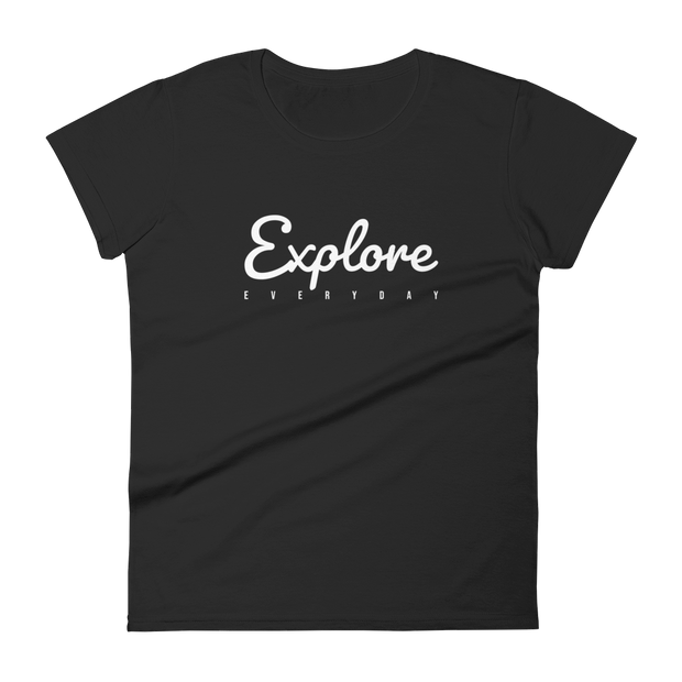 Explore Everyday BLK Fit t-shirt