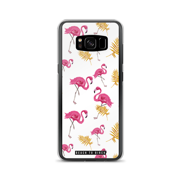 Flamingo Vibes Samsung Case