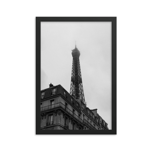 Classic Eiffel Tower Framed poster