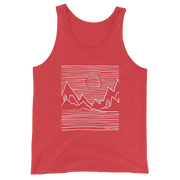 Mountain Lines Unisex Tank Top