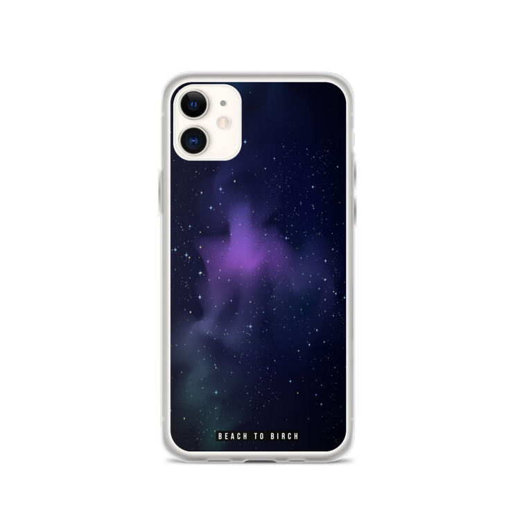 Galaxy and stars phone case for iPhone