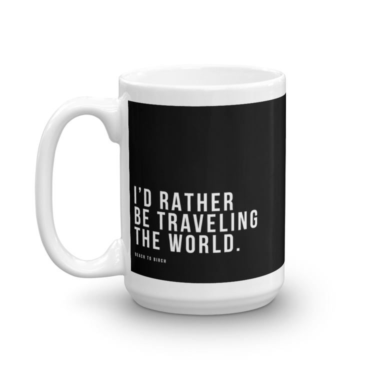 Traveling Coffee Mug