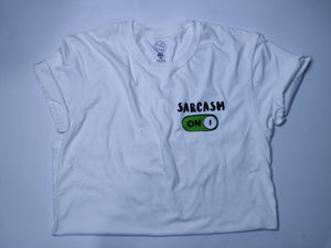 SARCASM ON - PLAYERA