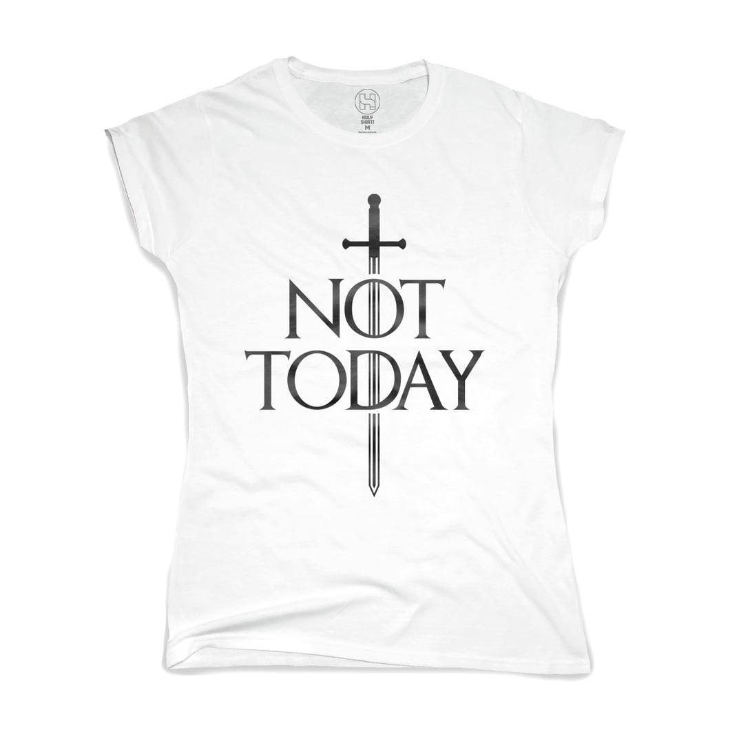 playera not today game of thrones