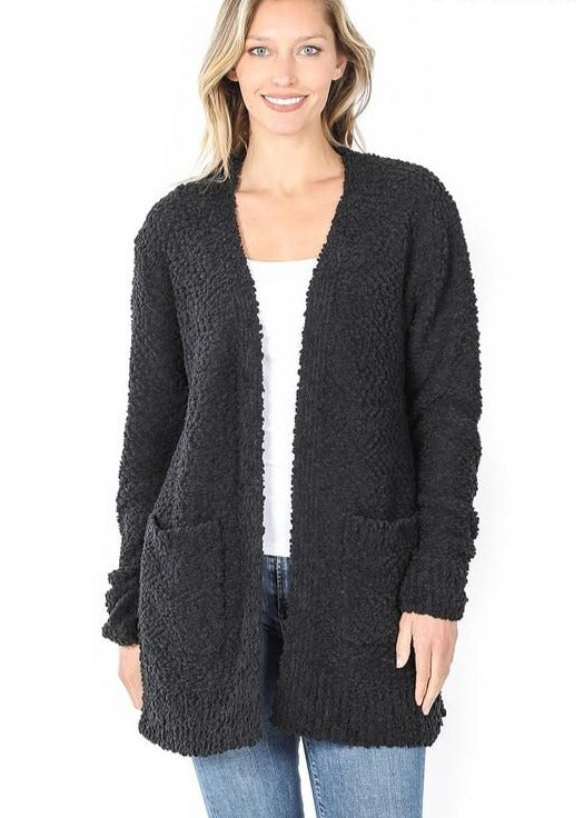 Poppy Cardigan - Black
