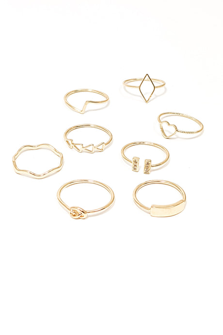 Ellie Ring Set