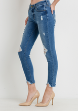 Load image into Gallery viewer, Distressed Skinny Jean - Shop Jenna LeeAnn