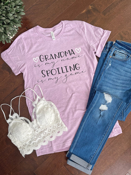 Grandma Spoiling Tee [Can Change Name]