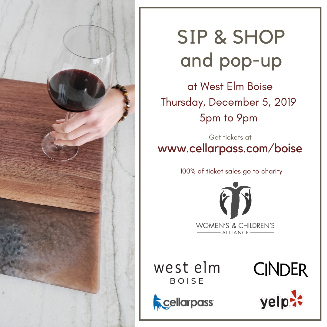 West Elm Pop-Up & Sip and Shop Event