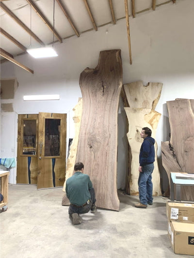 WoodLab walnut slabs