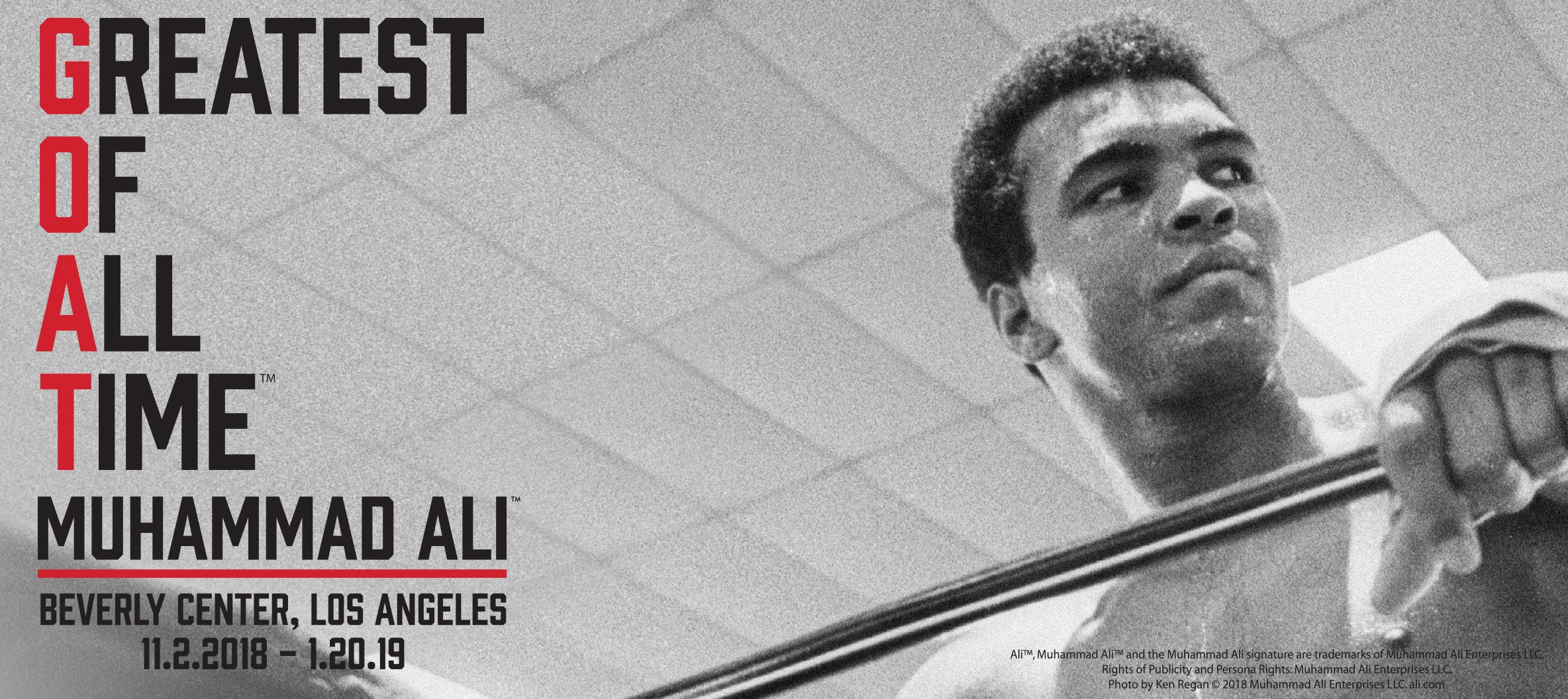 Muhammad Ali Greatest of All Time Beverly Center