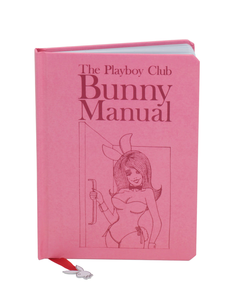"""Playboy Club Bunny Manual"" Journal with Bookmark"