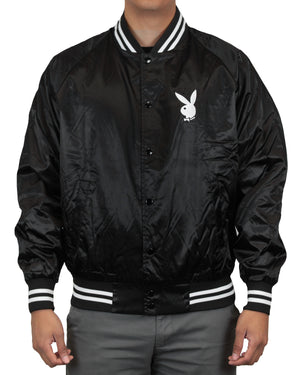 Playboy Unisex Satin Jacket
