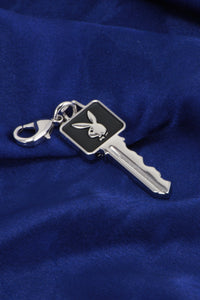 Playboy Club Key Zipper Pull