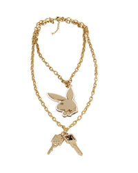 Playboy Double-Chain Necklace