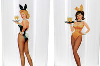 Playboy Pinup Tom Collins Glasses in Box (Set of 4)