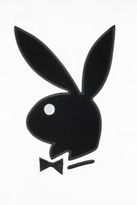 Playboy Pillow Case – Velvet Applique