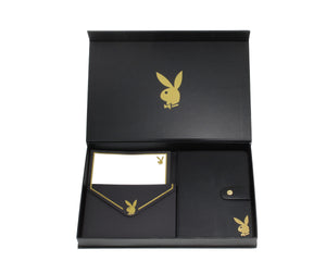 Playboy Gold Foil Boxed Stationery Set