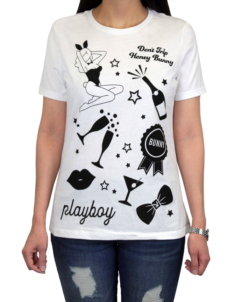 Playboy Collage Women's T-Shirt
