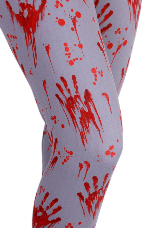 Bloody Handprint Leggings – Truly Outrageous