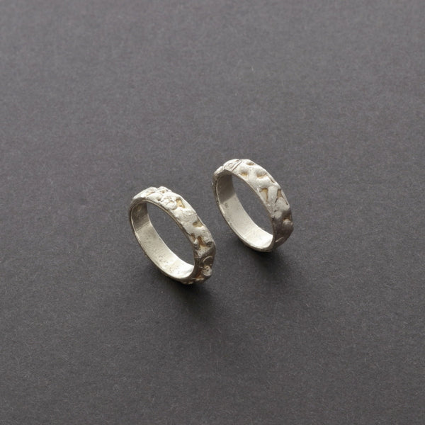 wedding rings, one of a kind custom made in silver or gold, online jewellery store Vienna