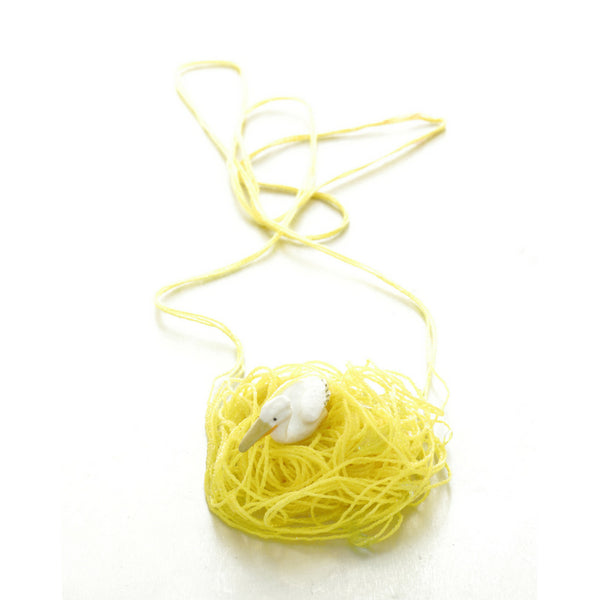 Yellow Animal Necklace