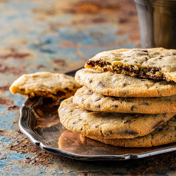 CBD Dark Chocolate Chip Cookies