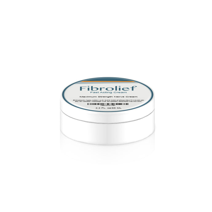 Fibrolief Fast Acting Cream for relief from fibromyalgia pain