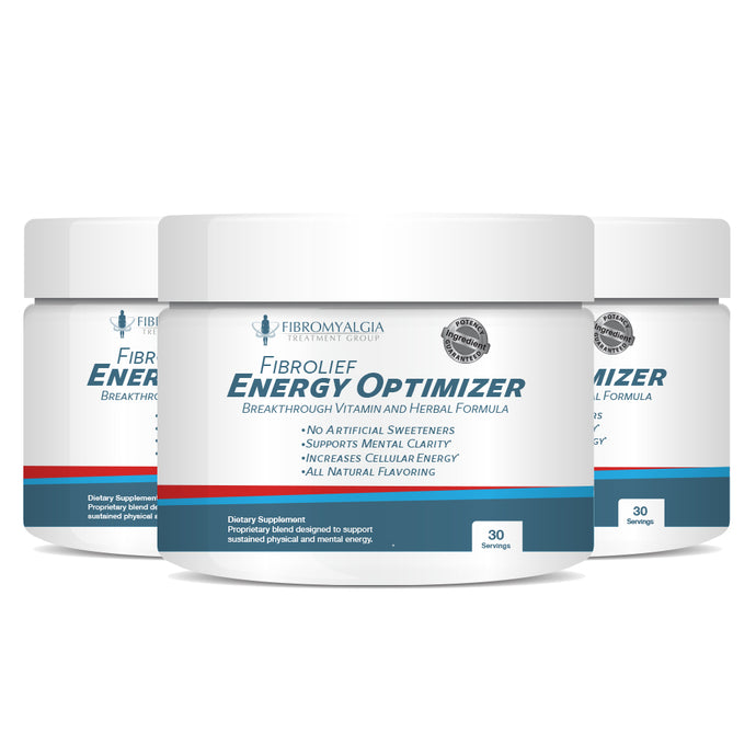 Fibrolief Energy Optimizer supplement for fibromyalgia