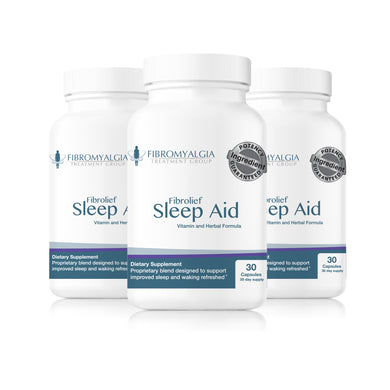 Fibrolief Sleep Support (3 Bottles) - SAVE $18