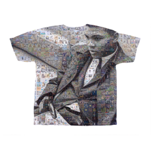 Load image into Gallery viewer, Muhammad Ali Custom Mosaic T-Shirt Design by Mozayink.com