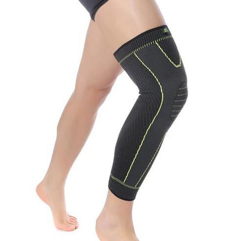Elastic Long Calf Knee Brace Support Protector |Cycling Basketball Sports Knee Brace Protector