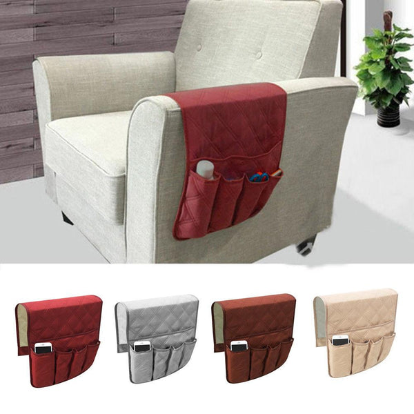 Sofa remote control storage bag