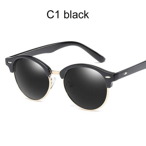 Polarized Sunglasses Women 2019 Cool Round Sun Glasses Fashion Driving Eyewear Lady Luxury Brand Goggles Black Pink Oculos