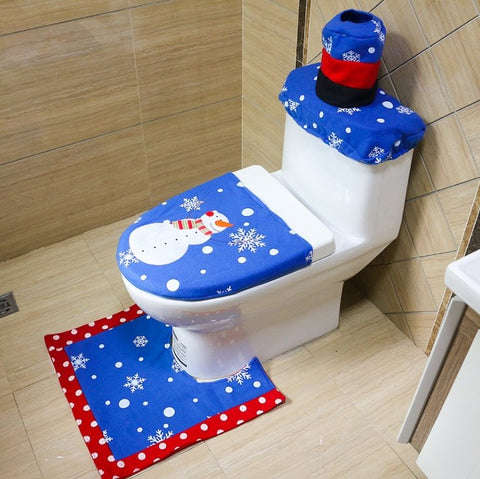 Christmas Toilet Seat Cover